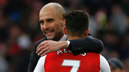 Manchester City to have 'internal meetings' about January Sanchez move - Pep Guardiola