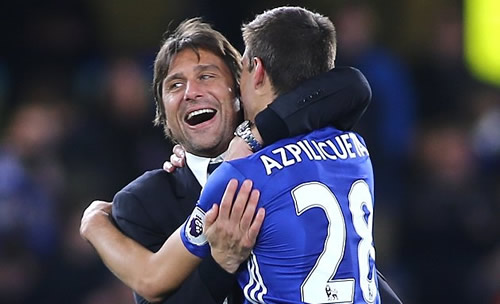 Chelsea manager Conte: My message to Diego Costa on his big day...