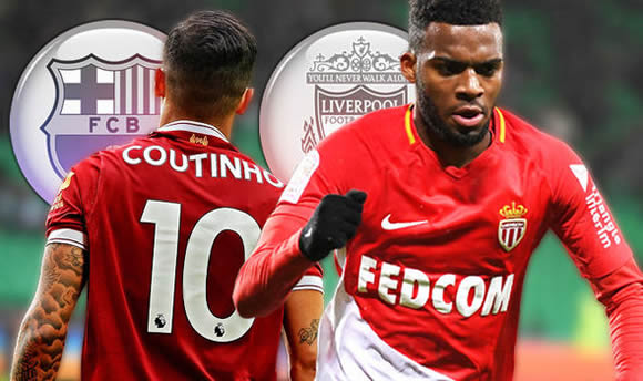Coutinho to Barcelona ON as Thomas Lemar agrees to replace Liverpool sensation