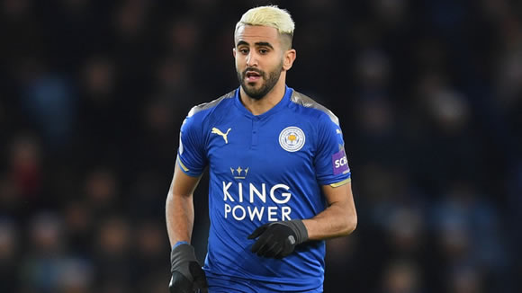 Liverpool not interested in signing Riyad Mahrez
