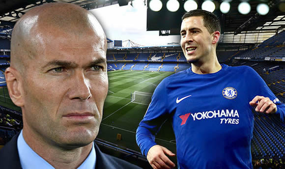 Eden Hazard to snub Real Madrid for bumper new Chelsea contract - EXCLUSIVE