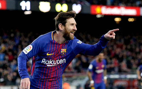 Barcelona 3 - 0 Levante: Lionel Messi scores on landmark appearance in comfortable Barcelona win