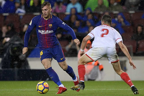 Inter Milan 'paying attention' to Barcelona's Gerard Deulofeu following Coutinho arrvial