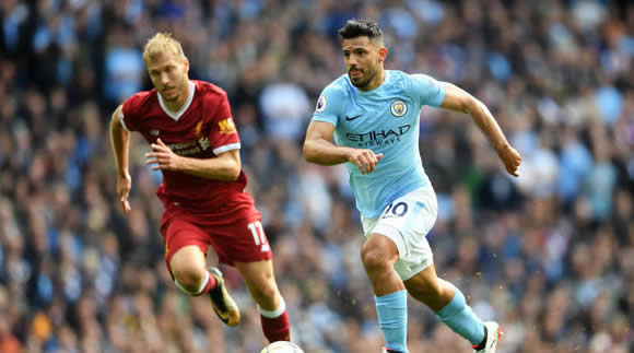 Aguero can end Man City's Anfield woes, says Guardiola