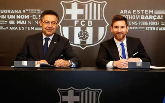 The details of Lionel Messi's latest Barcelona contract are sensational