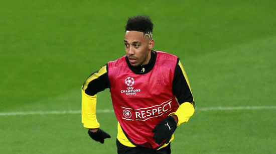 'Logical' for Aubameyang to stay at Dortmund, says Stoger