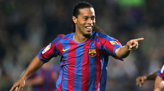 World Cup glory and Bernabeu magic - Ronaldinho's best moments for Barca and Brazil