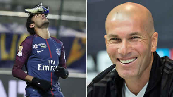 Zidane: The entire footballing world loves Neymar