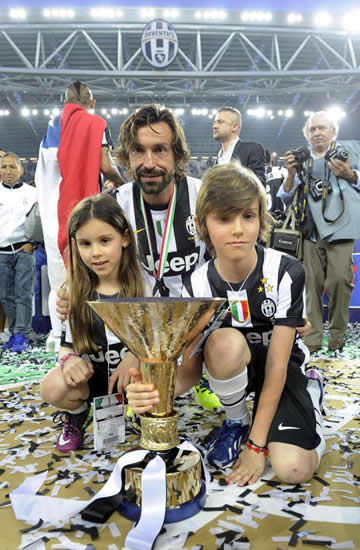 Andrea Pirlo's son, 15, signs for Juventus… and proud dad admits Nicolo reminds him of himself