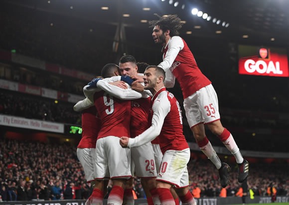 Arsenal 2 - 1 Chelsea FC: Arsenal don't miss Sanchez as they defeat Chelsea to reach League Cup final