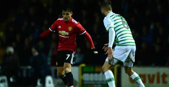 Yeovil Town 0 - 4 Manchester United: Debutant Sanchez helps visitors into Round Five