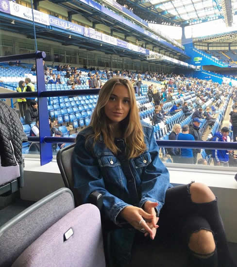 Katrine Friis: She looks hot in a bikini, loves shopping at Harrods and Liberty and takes London's Tube… meet Andreas Christensen's Wag