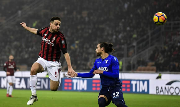 AC Milan 0 Lazio 0: Hosts with it all to do in semi-final second leg