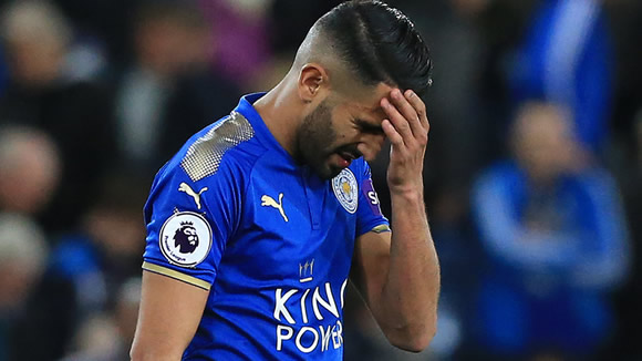 Pep Guardiola suggests Manchester City will move for Riyad Mahrez again in the summer