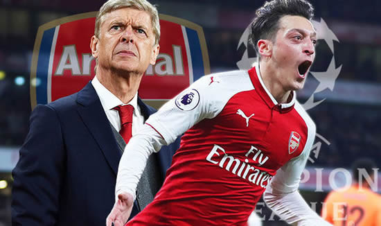Arsenal news: Mesut Ozil ordered to lead Gunners back to Champions League after new deal