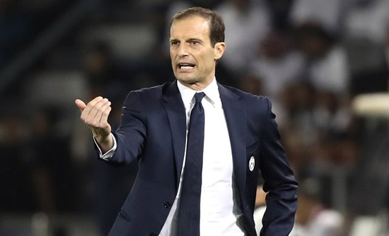 Real Madrid receive response from Juventus coach Allegri...