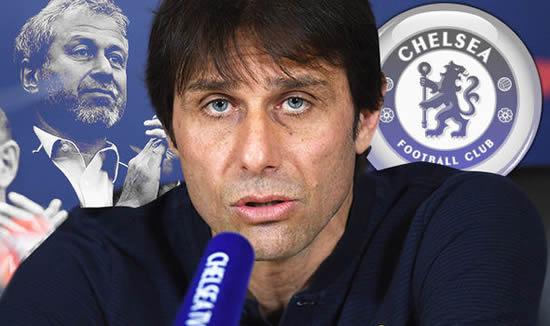 Chelsea boss Antonio Conte makes huge sack claim to Roman Abramovich