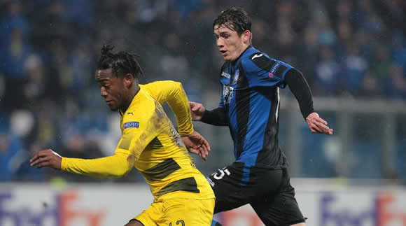 Michy Batshuayi says Atalanta fans made monkey chants