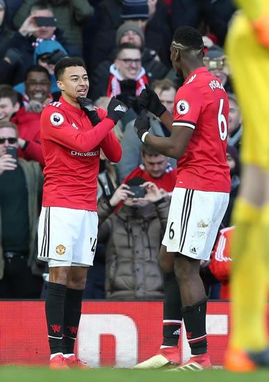 Manchester United star Jesse Lingard celebrates goal against Chelsea by performing Black Panther