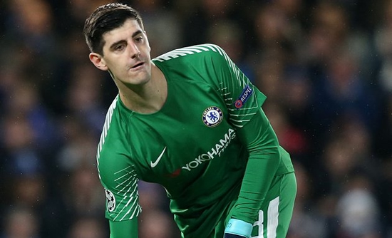 Courtois: Chelsea have the quality to finish in top four
