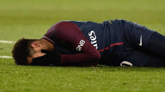 Neymar's father: PSG know they can't count on Neymar for six to eight weeks