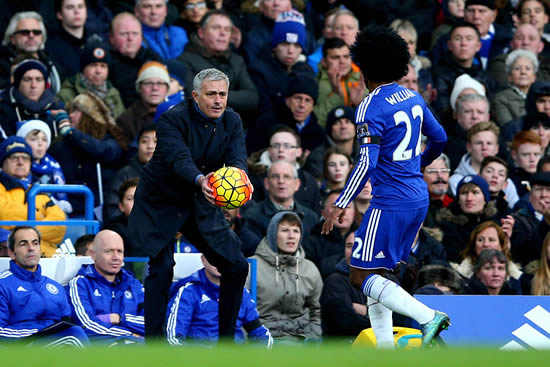 Willian hailed as