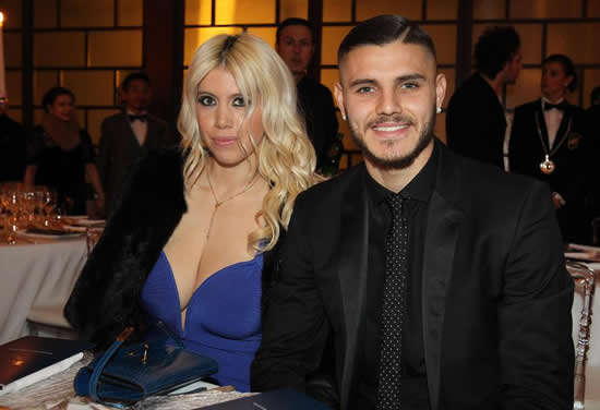 Wanda Nara forced to deny she has cheated on Inter Milan star and husband Mauro Icardi after fake 'audio leak sex scandal'