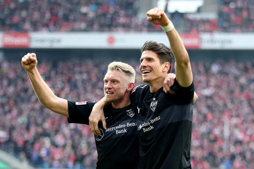 Claudio Pizarro and Mario Gomez scored in the same Bundesliga match and we're not sure what year it is