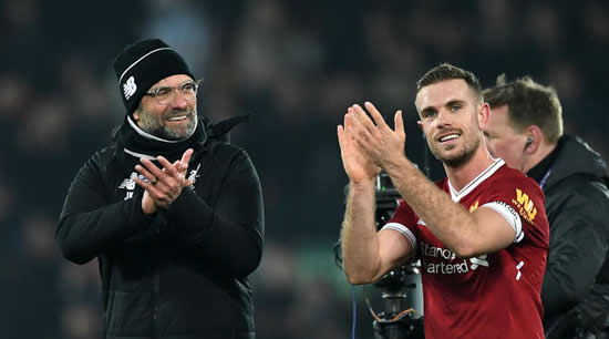 Replacing Gerrard is a horrible job - Klopp backing for Liverpool skipper Henderson
