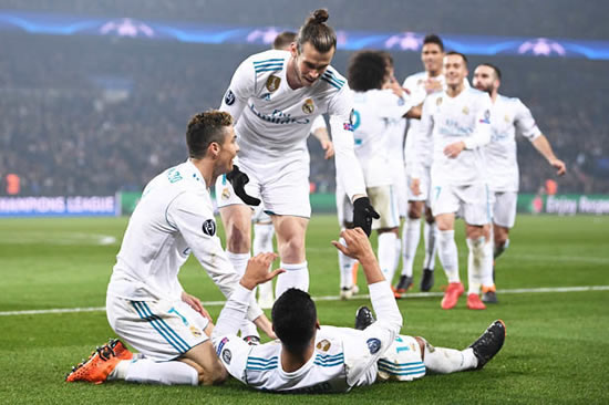 PSG 1 Real Madrid 2 (2-5): Champions League holders impress as Ronaldo scores again