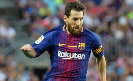 Barcelona star Messi happy with Valverde positional change