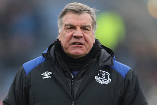Sam Allardyce admits he could be sacked by Everton