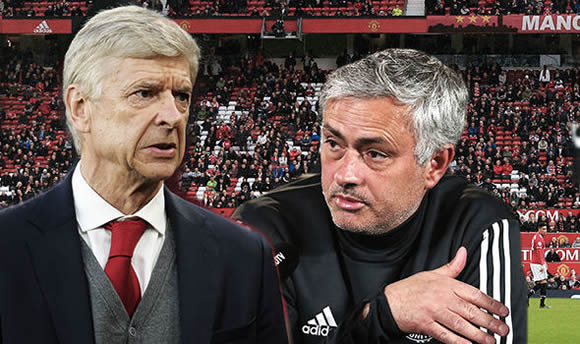 Arsene Wenger makes Jose Mourinho plea ahead of final Old Trafford trip as Arsenal boss