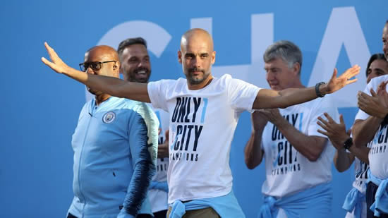 Pep Guardiola signs new three-year deal at Manchester City
