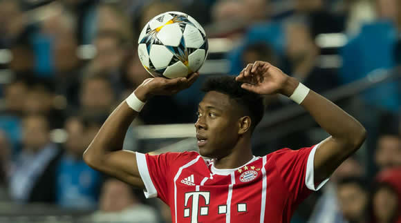 Real Madrid are really interested in Alaba - agent