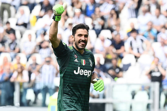 Juventus 2 - 1 Hellas Verona: Buffon makes emotional farewell as Juventus sign off with win