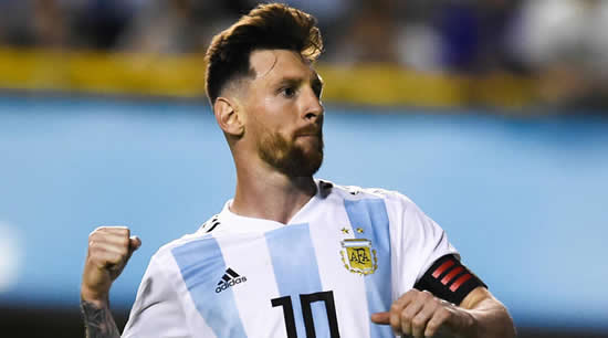 Messi: I'm just another player