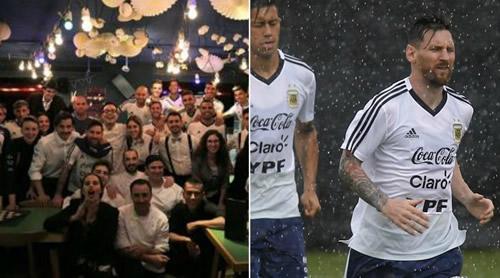 Hủy trận gặp Israel, Messi khao cả đội Argentina ăn tối