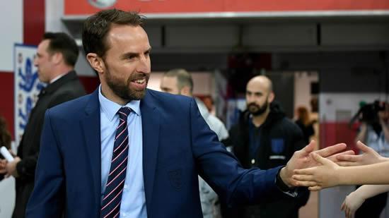 Gareth Southgate wants England to play entertaining football at World Cup