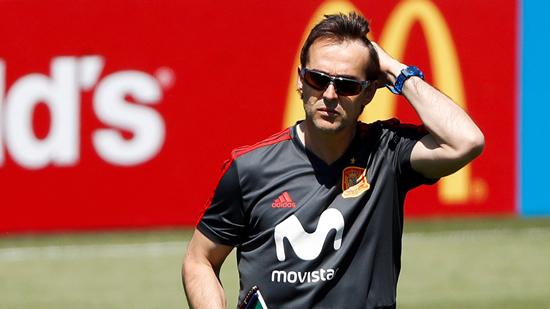 Real Madrid announce Julen Lopetegui as new coach