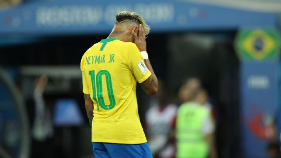 Brazil's Neymar, Gabriel Jesus kept down by Switzerland in opening draw