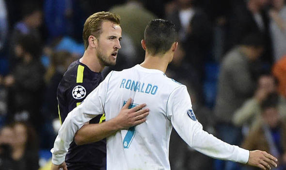 Cristiano Ronaldo: England captain Harry Kane vows to challenge World Cup rival
