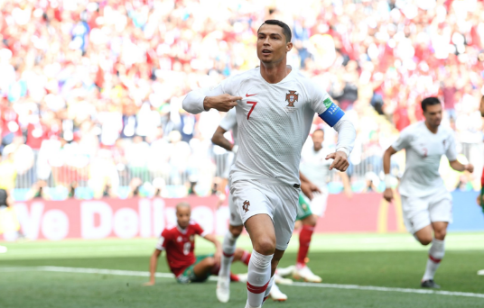 Portugal 1 Morocco 0: Record-breaker Ronaldo sends Renard's men out