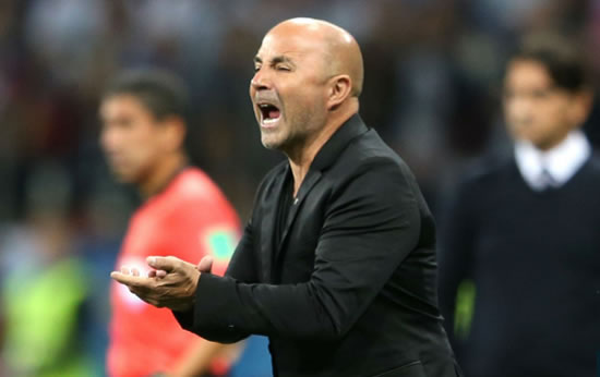 Blame me, not Caballero - Sampaoli defends goalkeeper after blunder