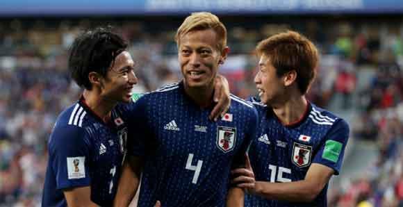 Japan 2 Senegal 2: Honda gatecrashes Cisse's party