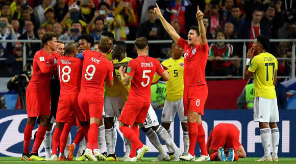 Mourinho surprised by England theatrics against Colombia