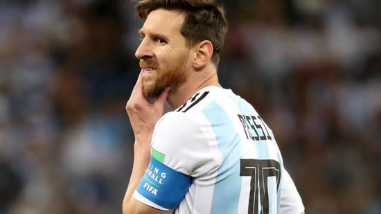 Messi temporarily steps down from the Argentina national team