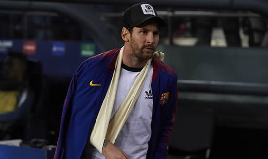 Lionel Messi: Return date set for Barcelona star after incredible recovery from arm injury