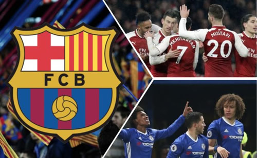 Barcelona superstar requiring surgery could see Chelsea or Arsenal aces seal Camp Nou transfer