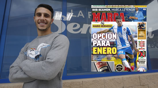 Real Madrid plan to sign Mario Hermoso this January